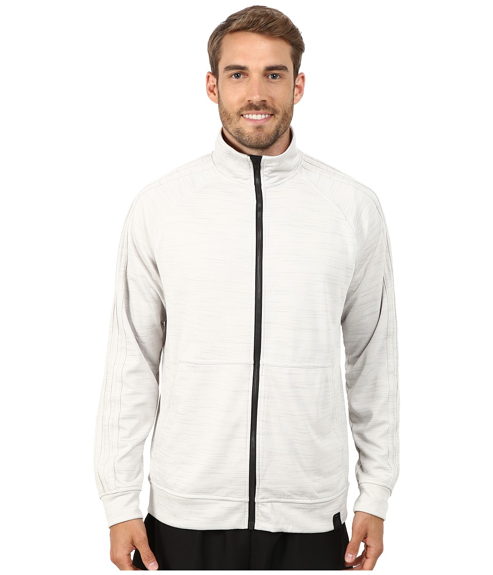 adidas - Standard One Track Jacket (Pearl Grey) Men's Jacket