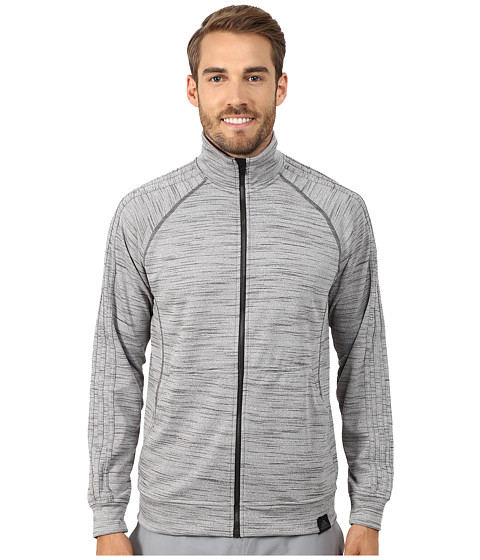 adidas - Standard One Track Jacket (Dark Grey Heather) Men