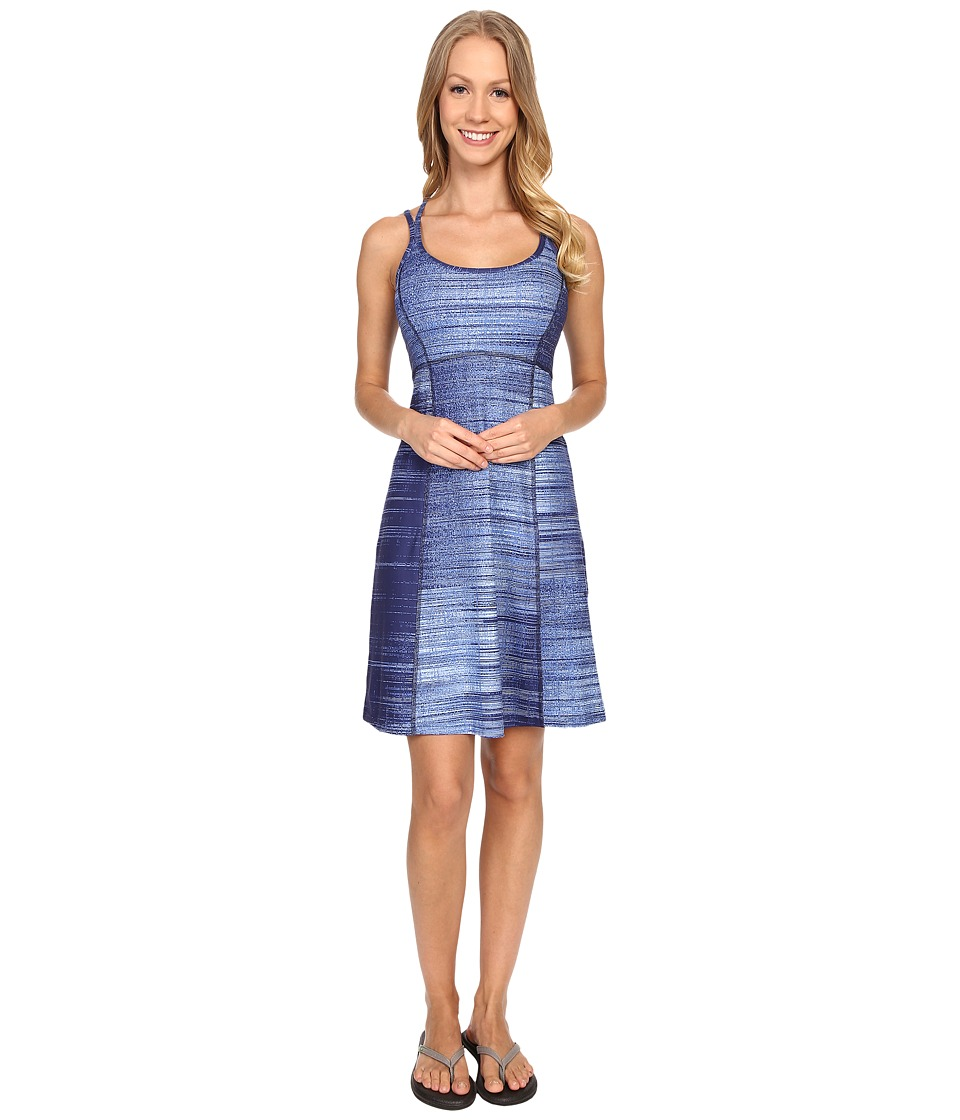 The North Face Empower Dress (Patriot Blue Scratchy Print) Women
