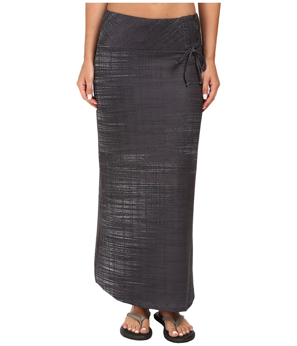 The North Face - Empower Maxi Skirt (Graphite Grey Scratchy Print) Women's Skirt