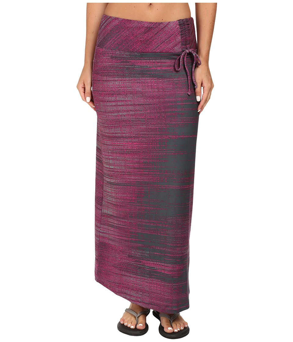 The North Face - Empower Maxi Skirt (Spruce Green Scratchy Print) Women's Skirt