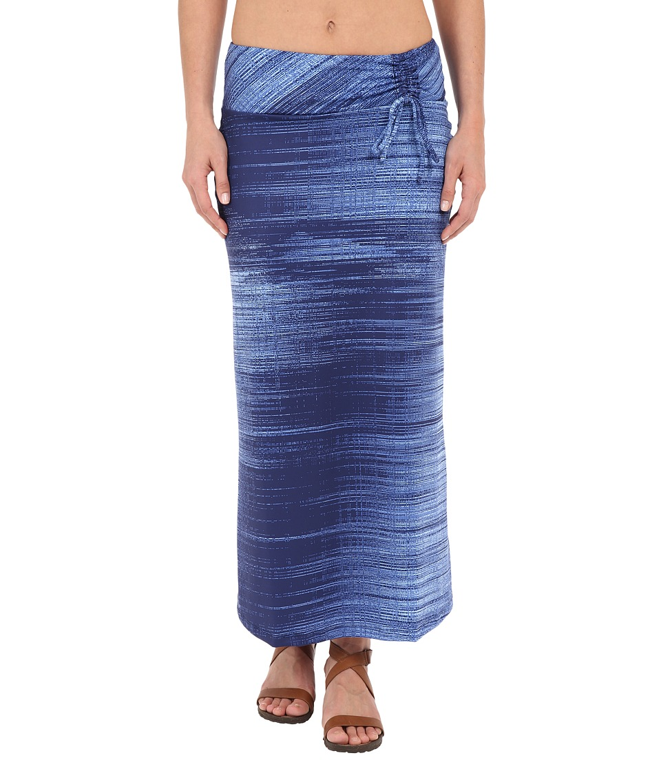 The North Face Empower Maxi Skirt (Patriot Blue Scratchy Print) Women