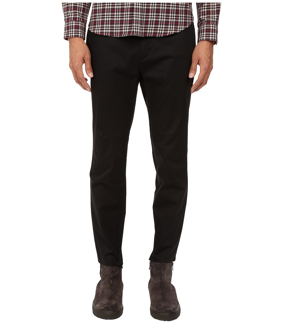 Theory - Zaine WD.Haddon Pants (Black) Men's Casual Pants