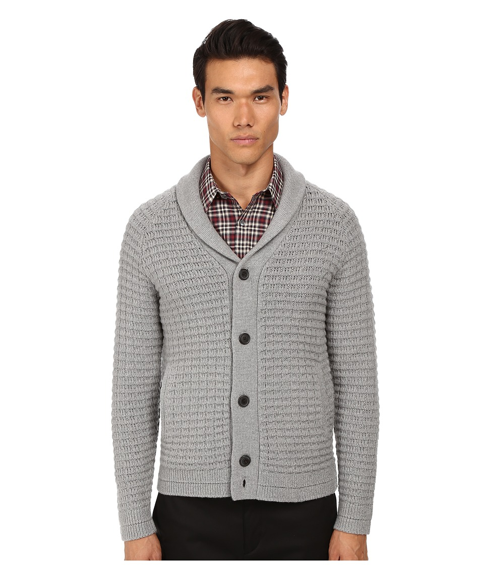 Theory - Balfor.Cashwool 2 Sweater (Concrete) Men's Sweater