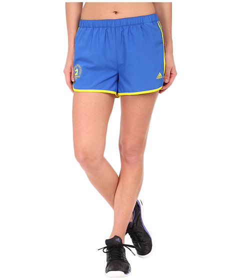 adidas - M10 Shorts (Blue/Yellow) Women's Shorts