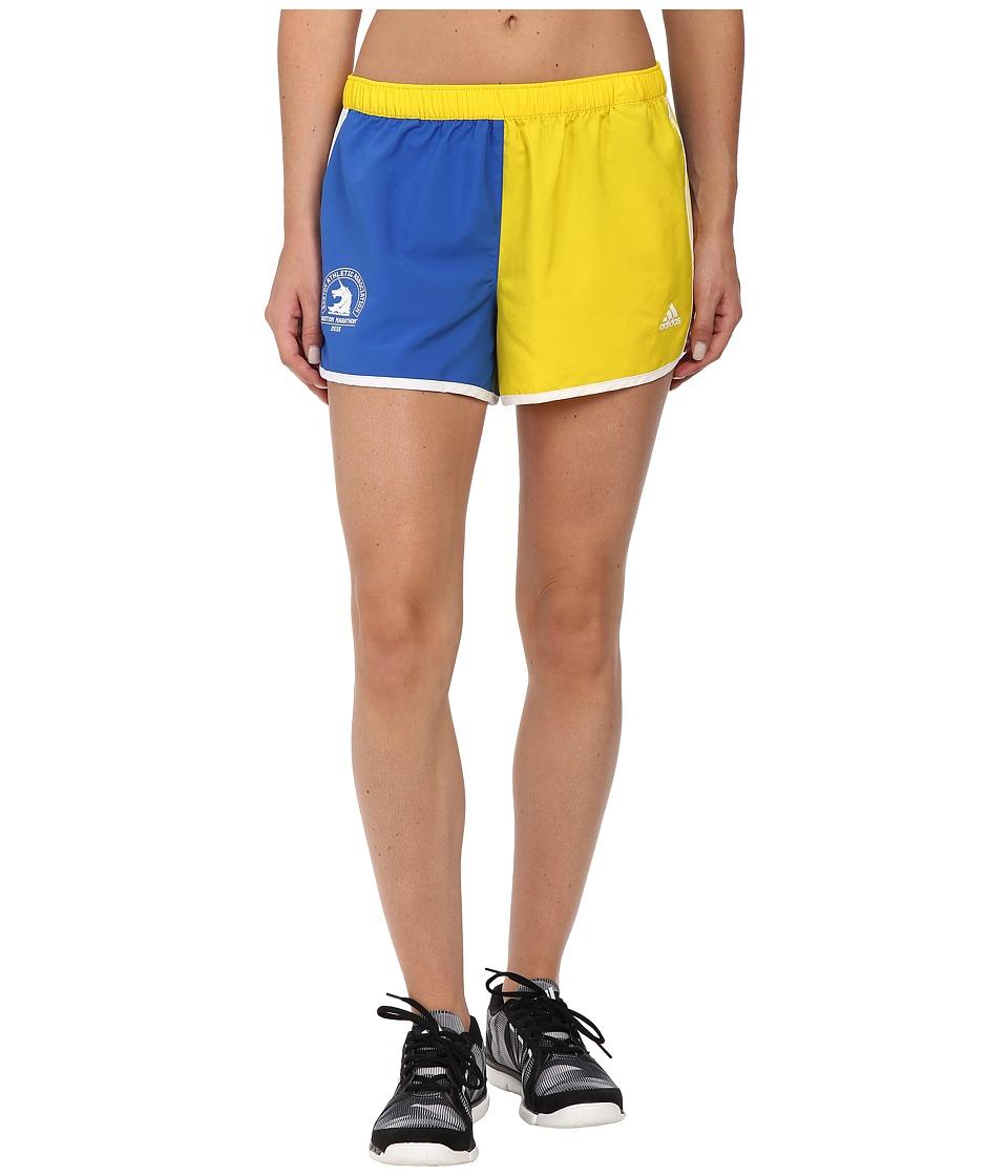 adidas - M10 Shorts (Yellow/Blue) Women