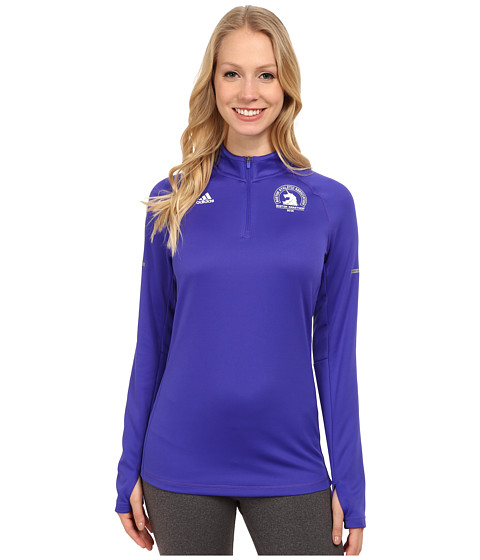 adidas - Sequentials Climacool Half Zip (Night Flash Purple) Women