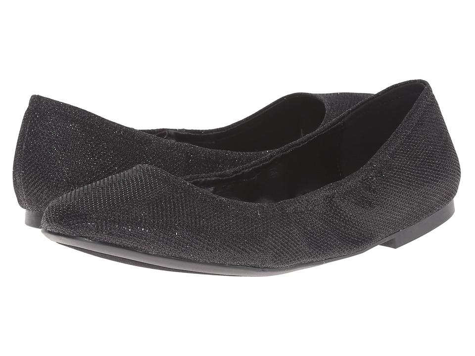 Nine West - Girlsnite (Black Fabric) Women's Flat Shoes
