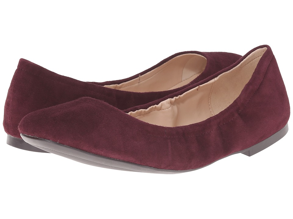 nine west girlsnite suede s flat shoes