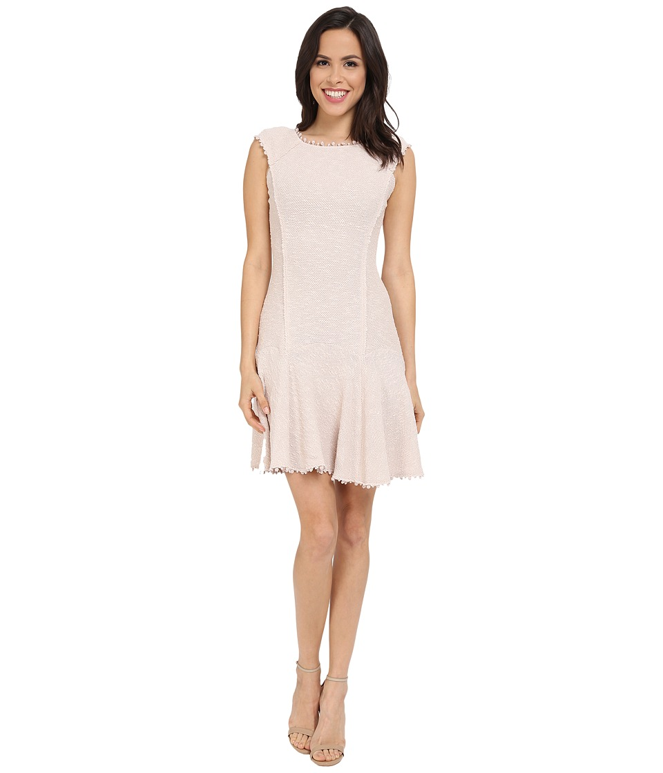 Rebecca Taylor - Stretch Boucle Dress (Vanilla) Women's Dress