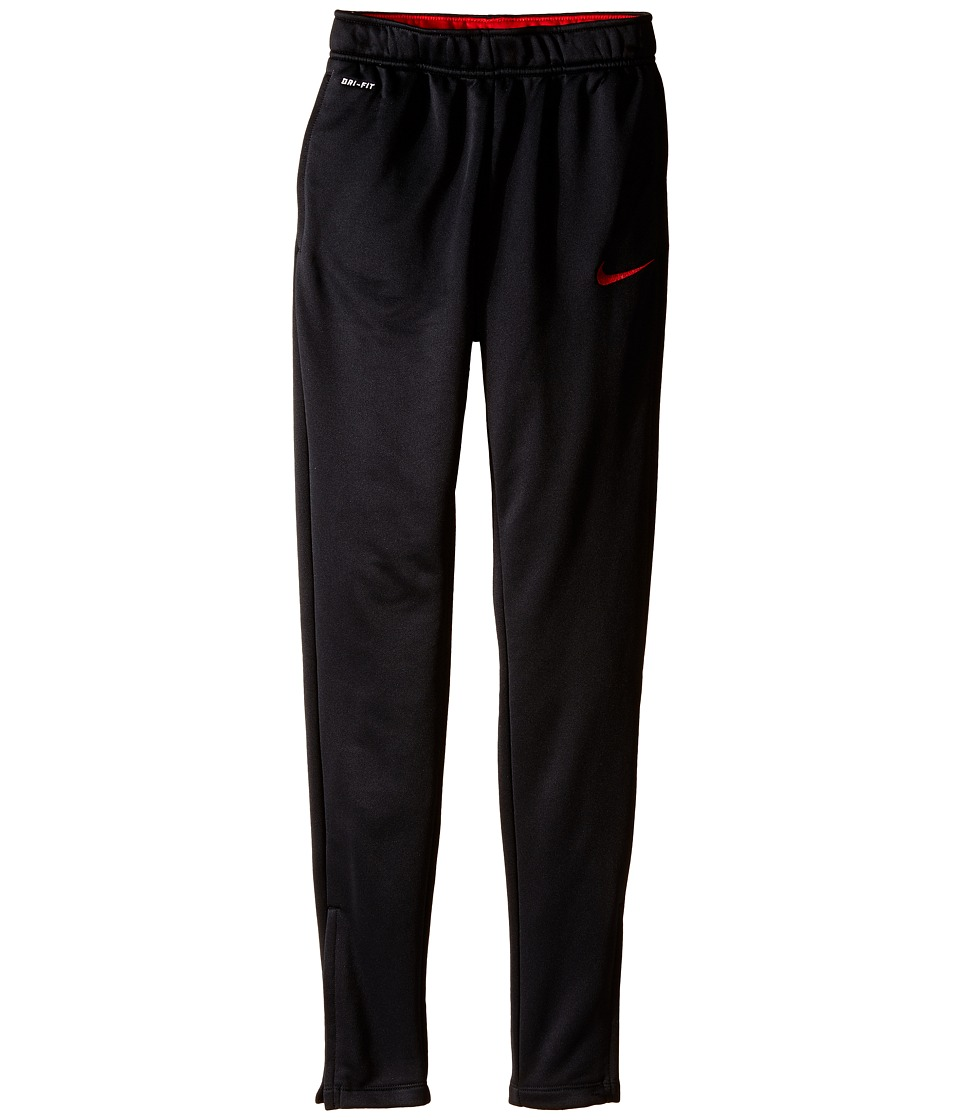 Nike Kids - Academy Tech Pant (Little Kids/Big Kids) (Black/University Red/University Red) Boy