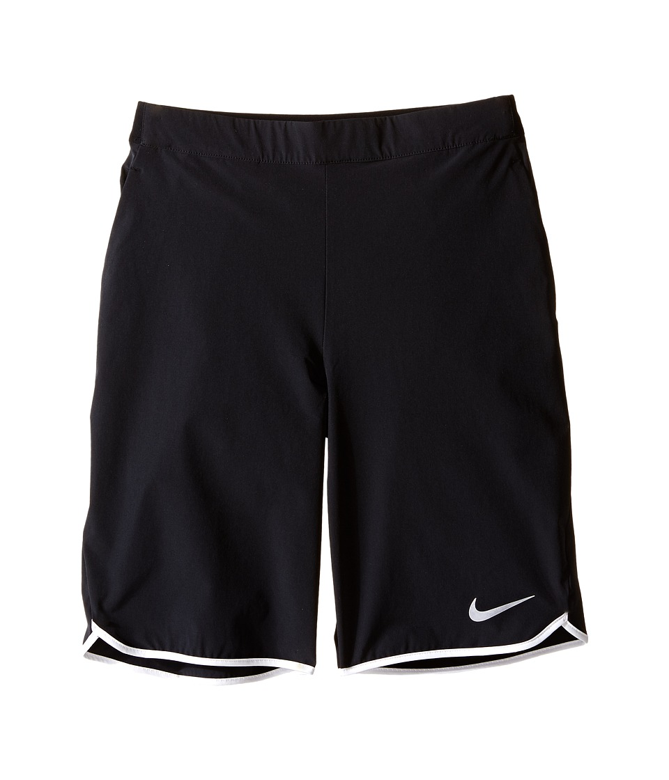 Nike Kids - Gladiator Tennis Short (Little Kids/Big Kids) (Black/White/Black/White) Boy's Shorts