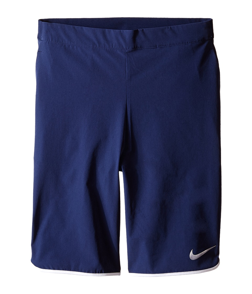 Nike Kids - Gladiator Tennis Short (Little Kids/Big Kids) (Midnight Navy/White/White) Boy's Shorts