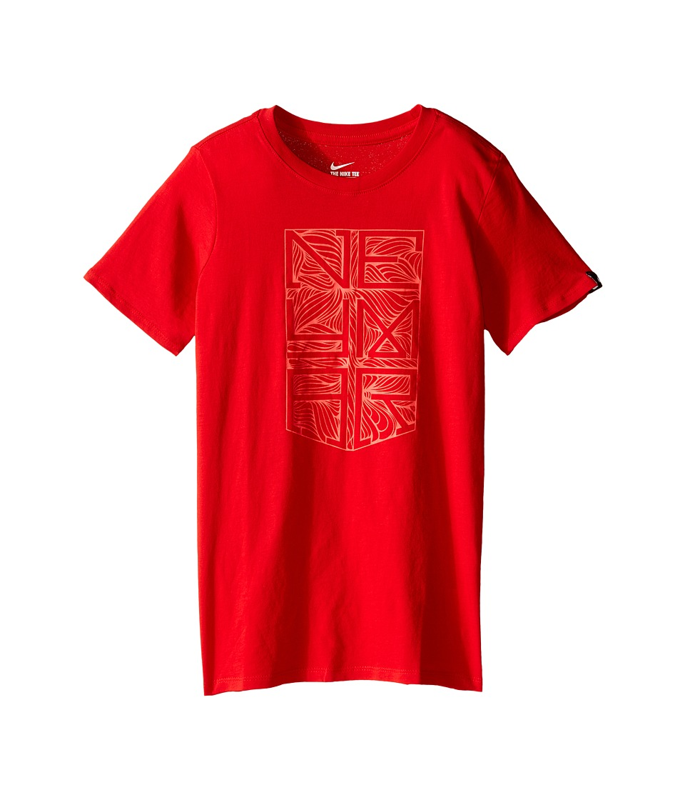 Nike Kids - Neymar Logo Tee (Little Kids/Big Kids) (University Red/University Red) Boy's T Shirt