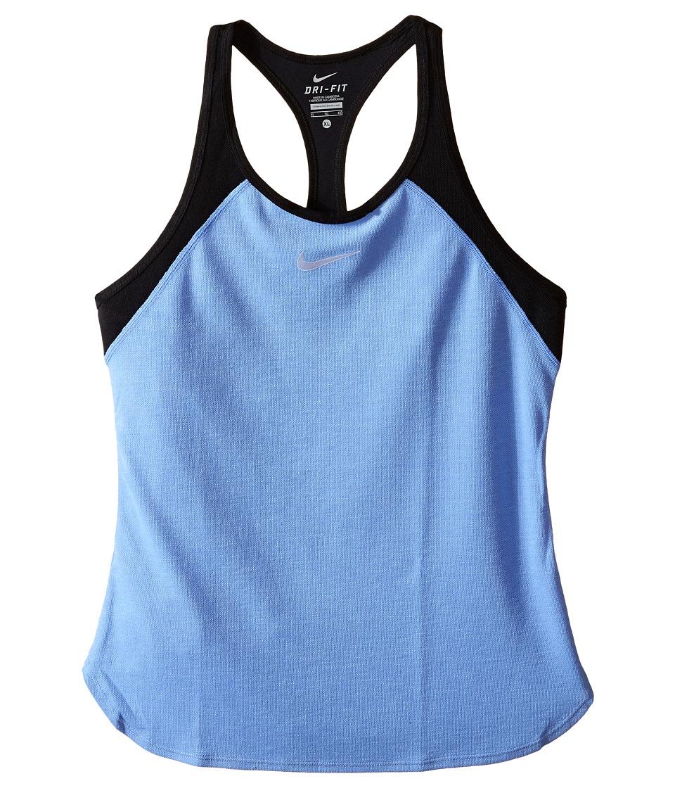 Nike Kids - Court Slam Tennis Tank Top (Little Kids/Big Kids) (Chalk Blue/Black/White) Girl's Sleeveless