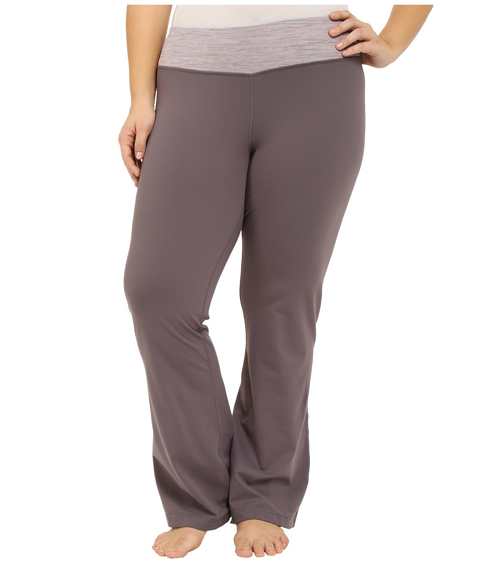 Columbia - Plus Size Luminescence Boot Cut Pants (Pulse/Pulse Jacquard) Women's Casual Pants