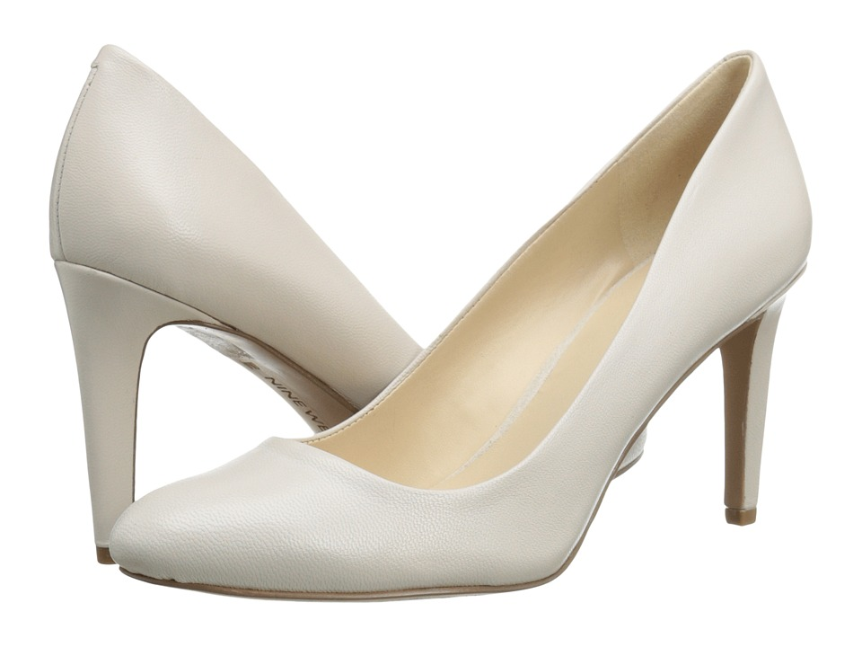 Nine West - Handjive (Off White Leather) High Heels