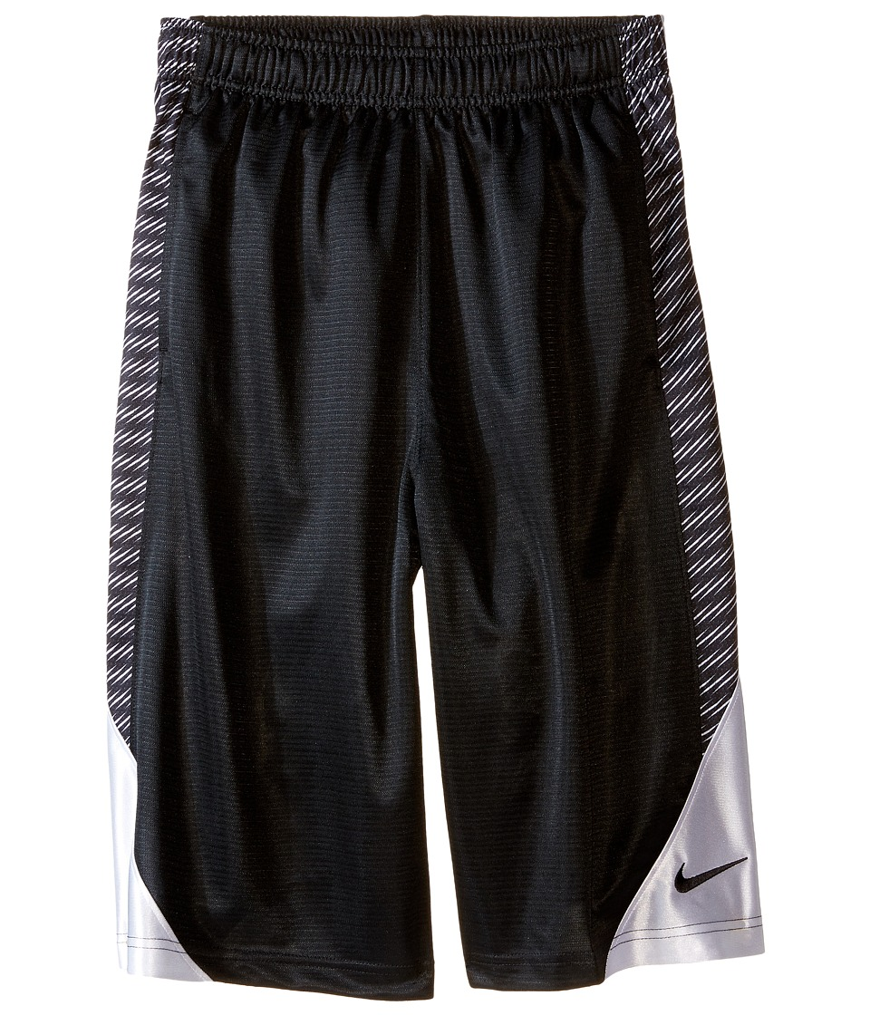 Nike Kids - Avalanche Aop6 Shorts (Little Kids/Big Kids) (Black/White/White/Black) Boy's Shorts
