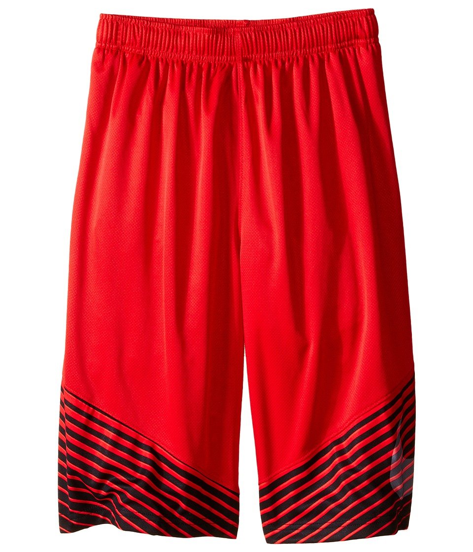 Nike Kids - Elite Performance Basketball Short (Little Kids/Big Kids) (University Red/Black/Light Crimson/Metallic Silver) Boy's Shorts
