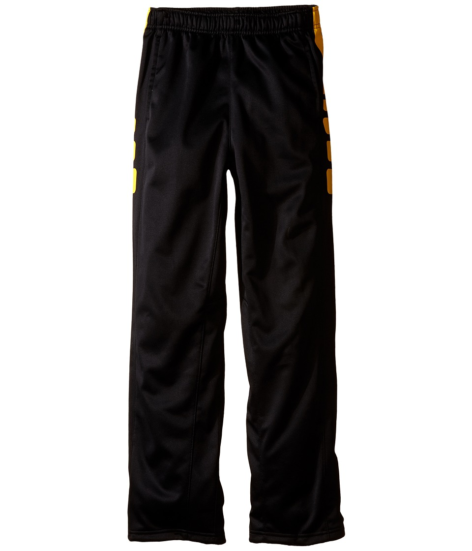 Nike Kids - Elite Stripe Pants (Little Kids/Big Kids) (Black/Varsity Maize/Anthracite) Boy's Casual Pants