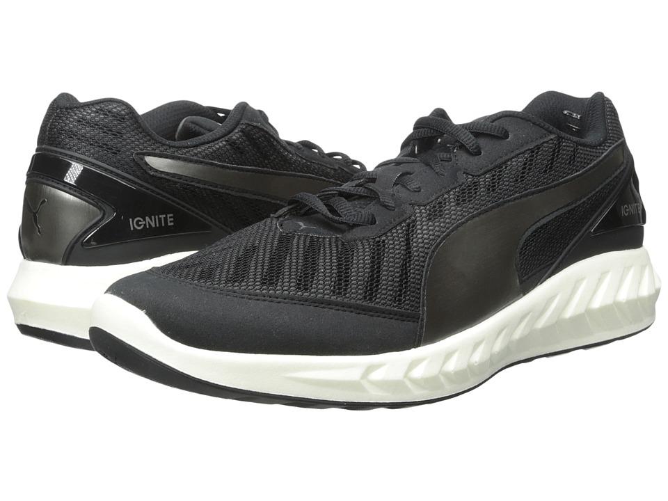 PUMA - Ignite Ultimate (Black/Asphalt) Men's Running Shoes