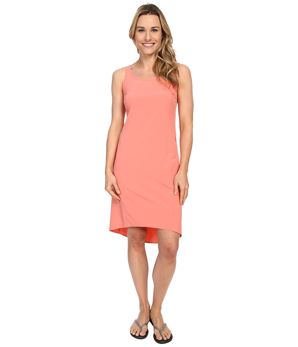 Columbia Departure Point Dress (Coral Bloom) Women