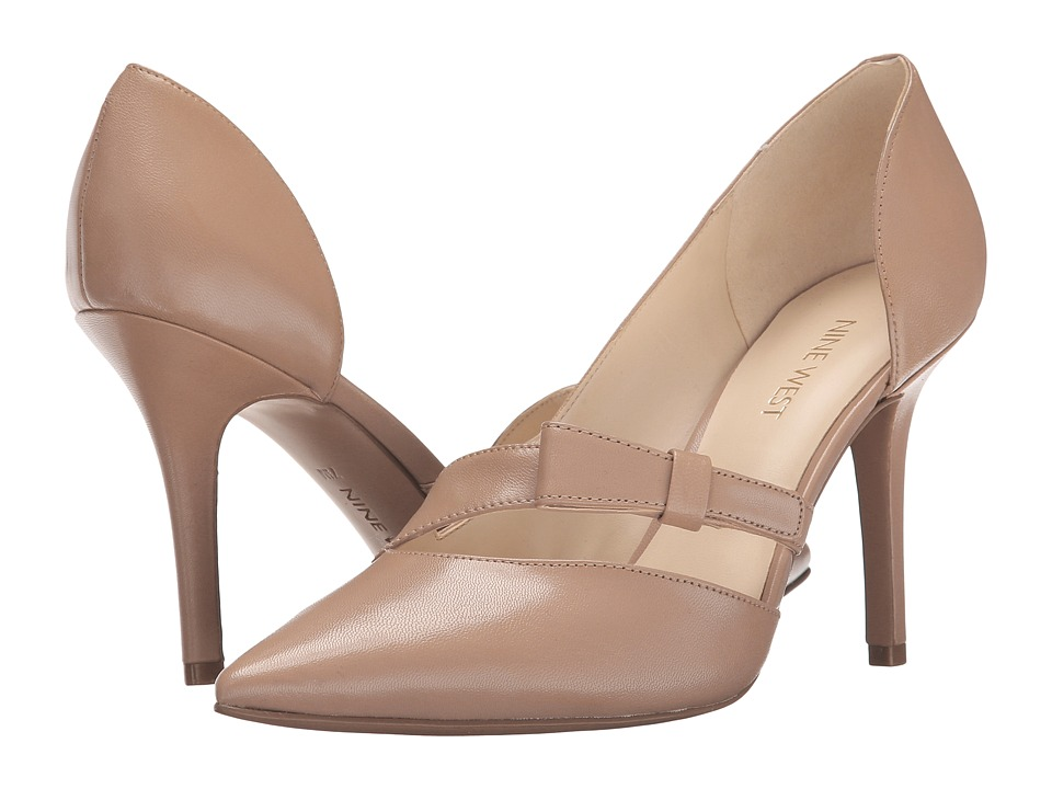 Nine West - Janice (Taupe Leather) Women's Shoes