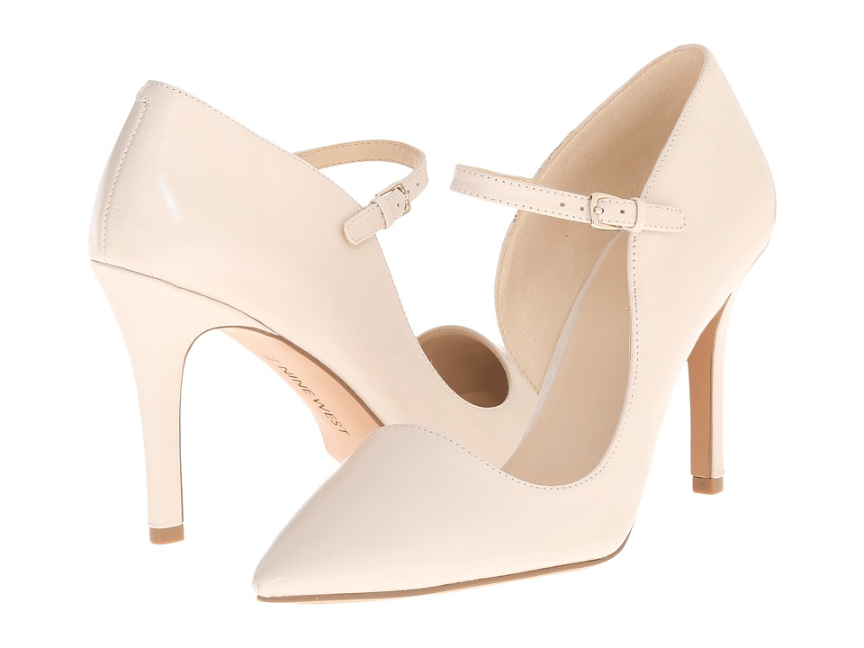 Nine West - Jennelle (Off White Leather) Women