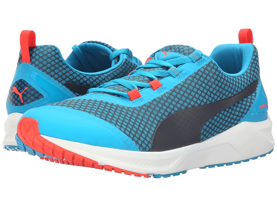 PUMA - Ignite XT Core (Atomic Blue/Black/Red Blast) Men's Running Shoes