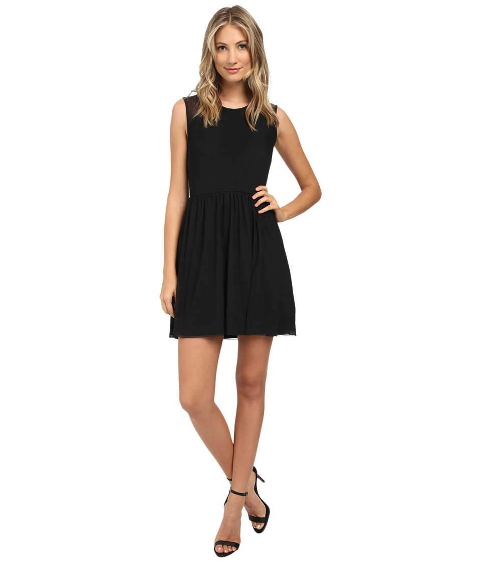 Jack by BB Dakota - Eva Mesh Dress (Black) Women's Dress