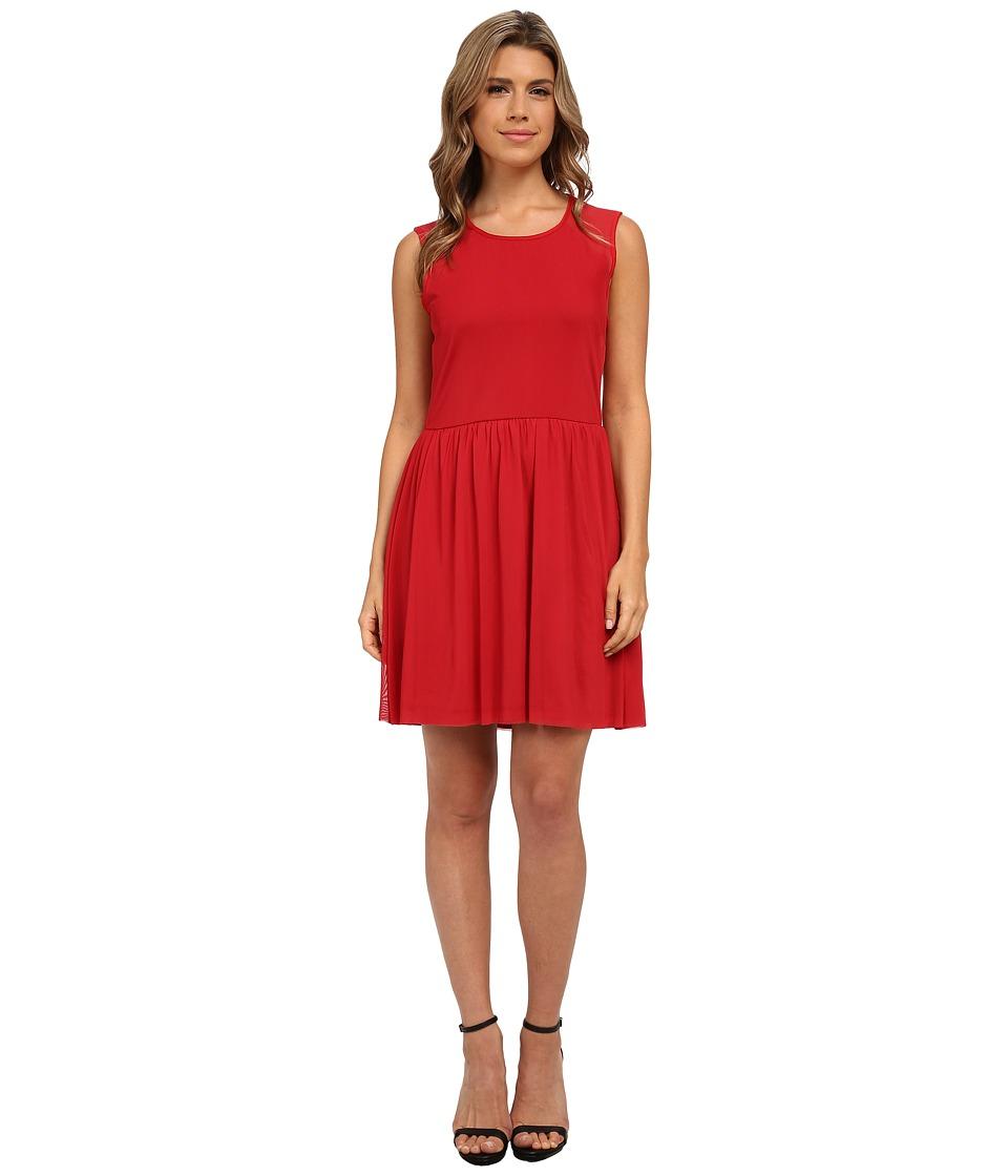 Jack by BB Dakota - Eva Mesh Dress (Chili Pepper) Women's Dress