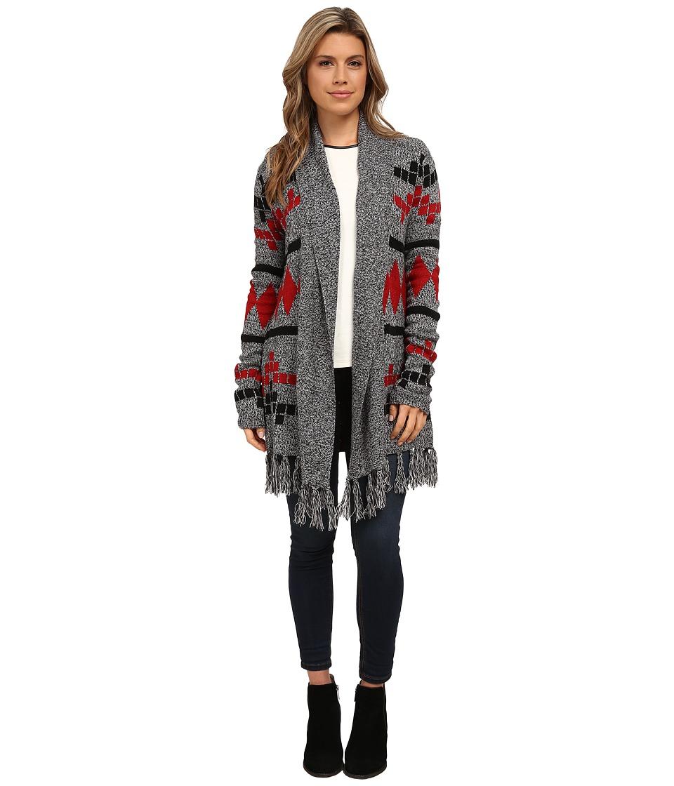 Jack by BB Dakota - Lawson Fringe Intarsia Cardigan (Multi) Women's Sweater