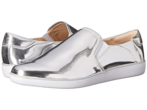 Nine West - Lildevil (Silver/White Synthetic) Women