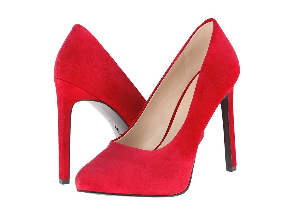 Nine West - Leapafaith (Red Suede) High Heels