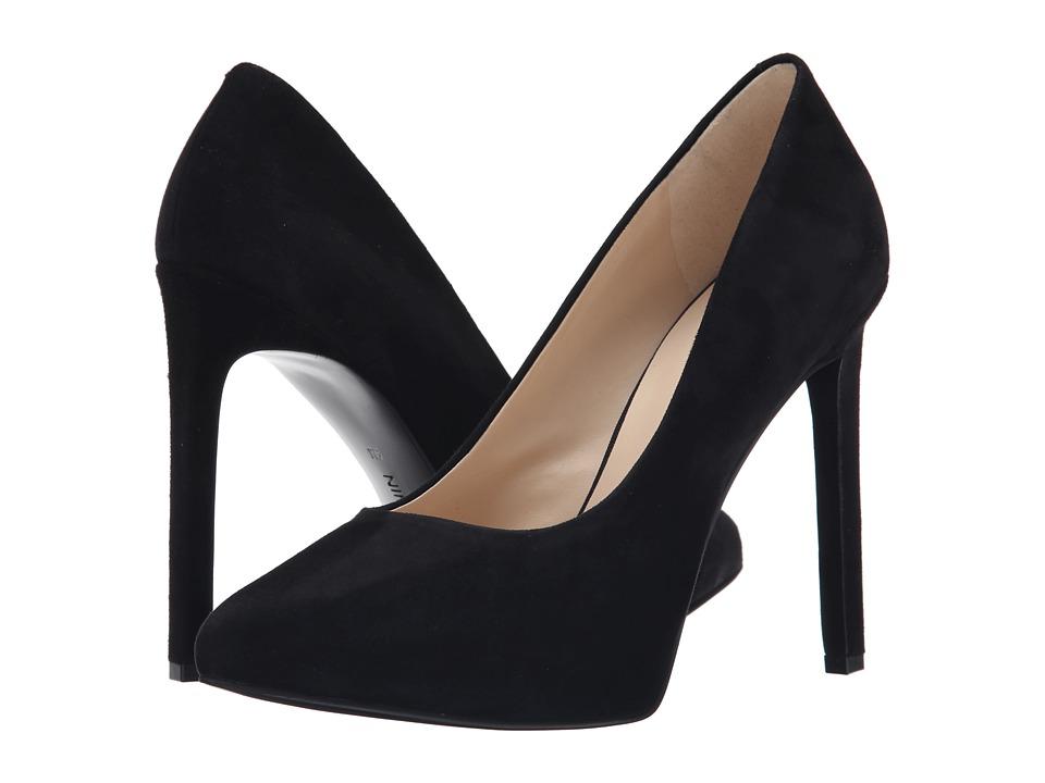 Nine West - Leapafaith (Black Suede) High Heels