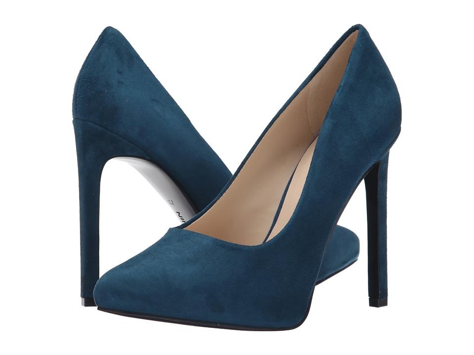 Nine West - Leapafaith (Blue Green Suede) High Heels