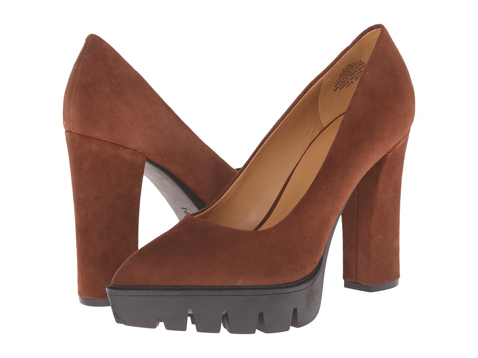 Nine West - Kasen (Brown Suede) High Heels