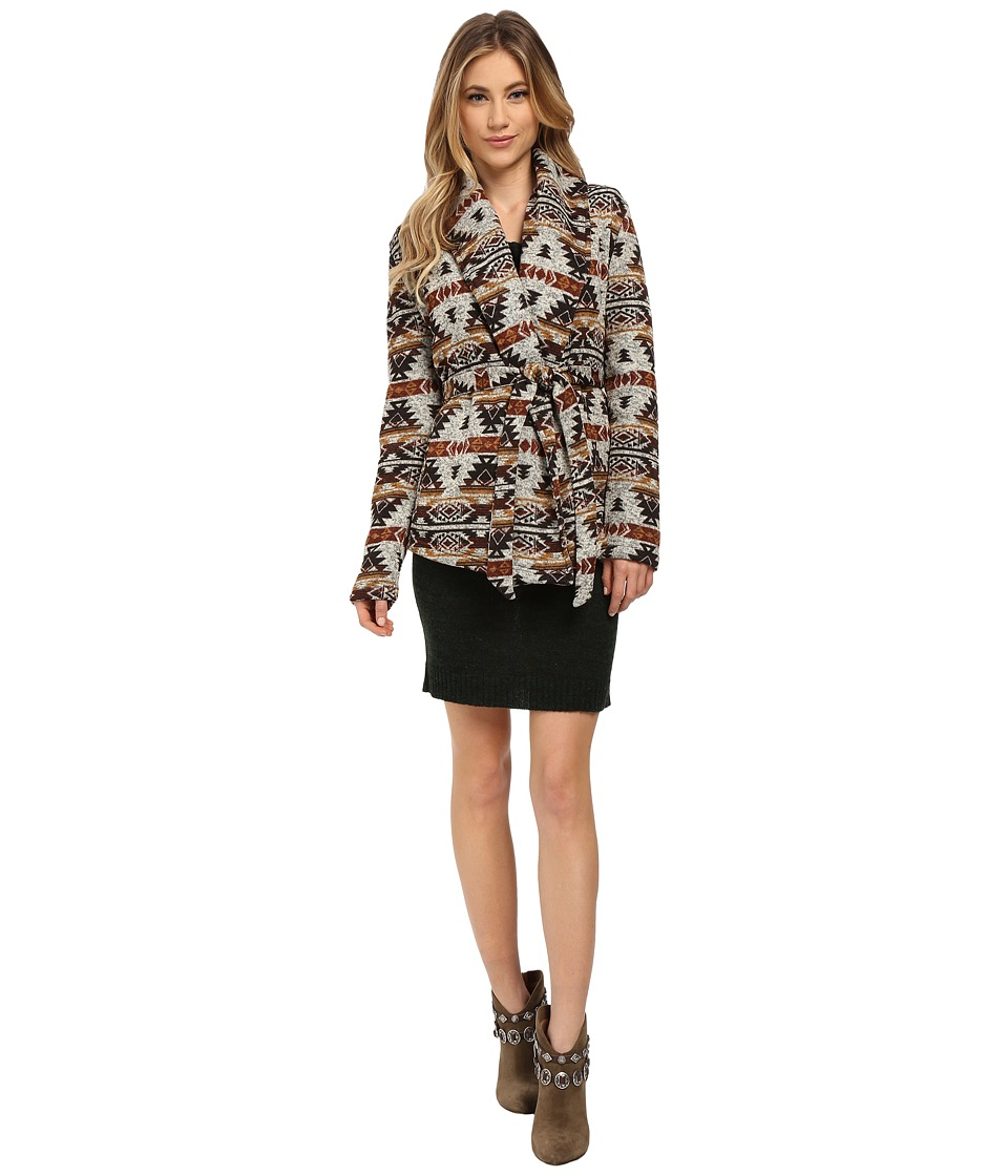 Jack by BB Dakota - Marsha Printed Fleece Jacket (Multi) Women's Coat