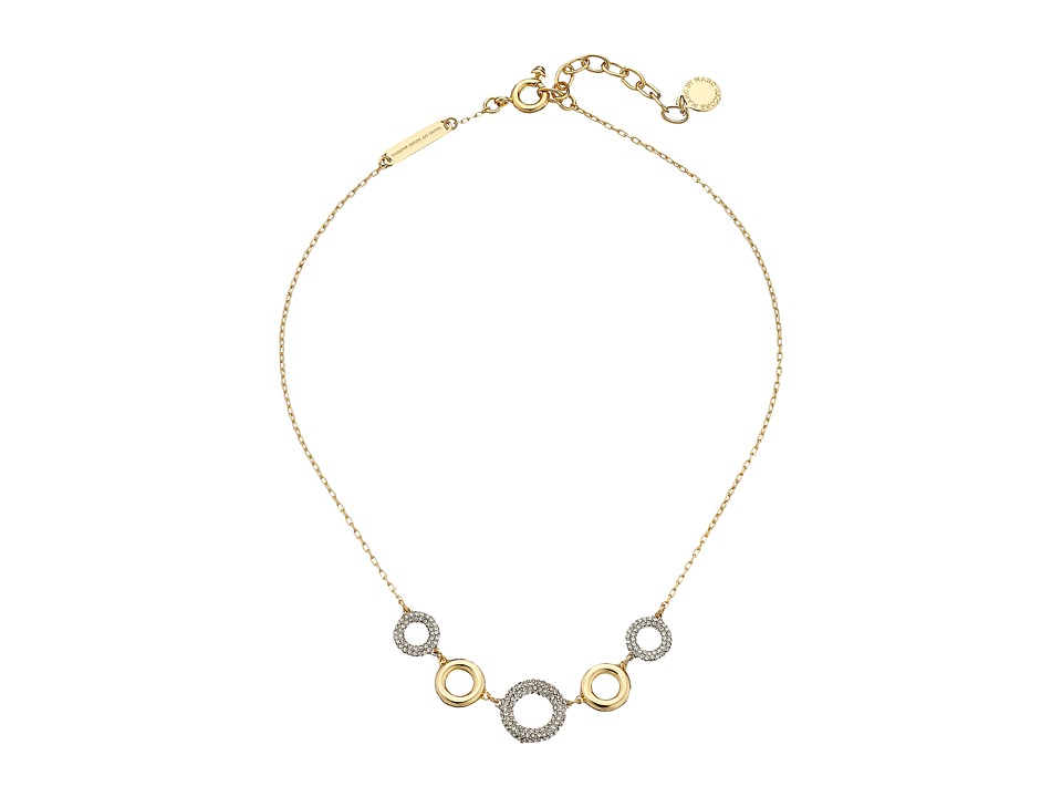 Marc by Marc Jacobs - Eyelet Delicate Necklace (Oro Multi) Necklace
