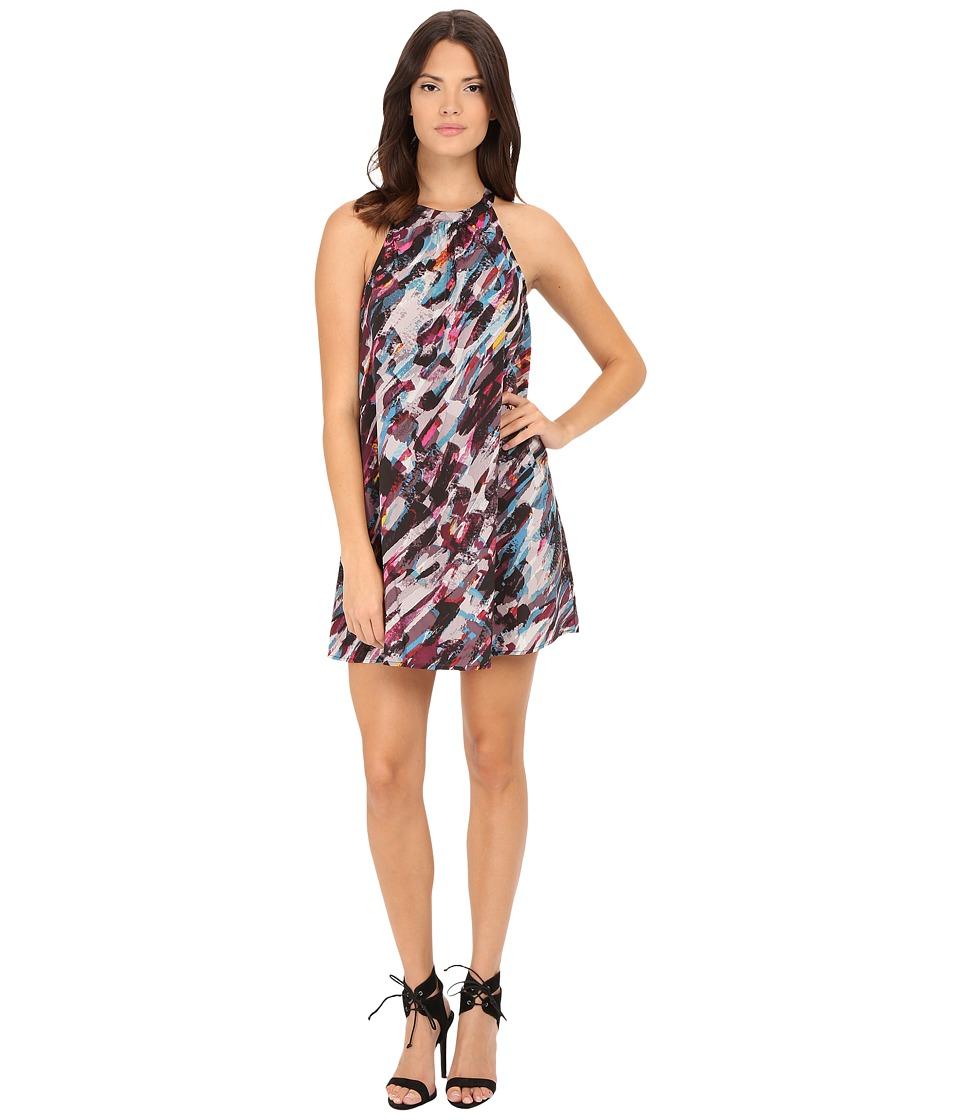 Jack by BB Dakota - Shan Confetti Printed Reverse Crepon Dress (Multi) Women's Dress
