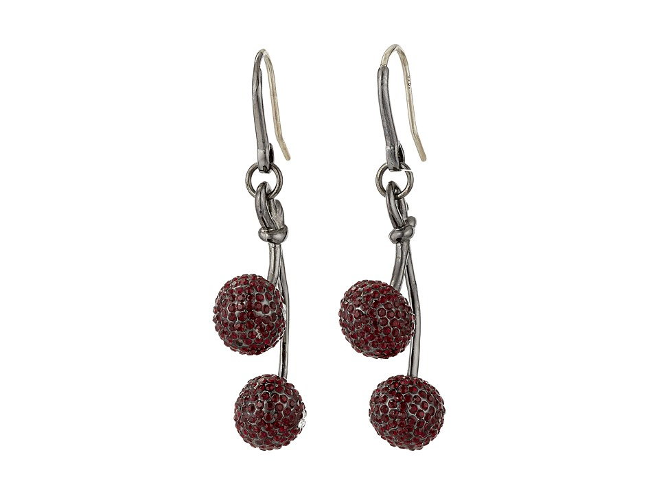 Marc by Marc Jacobs - Pave Cherry Earrings (Cherry Multi) Earring