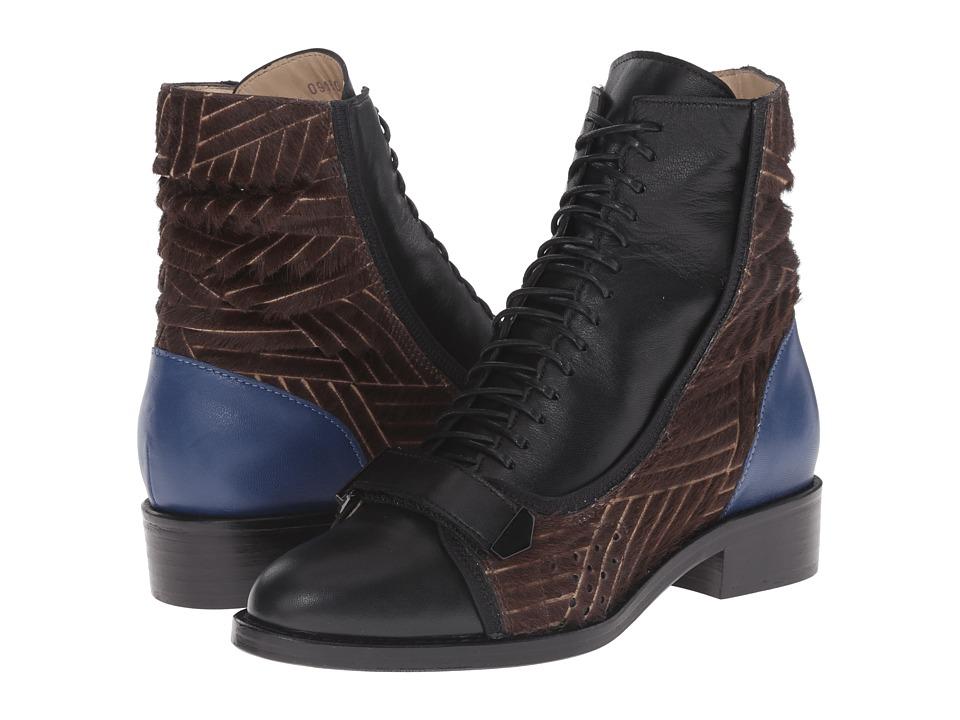 Preen by Thornton Bregazzi - Kim Boot (Blue Multi) Women's Boots