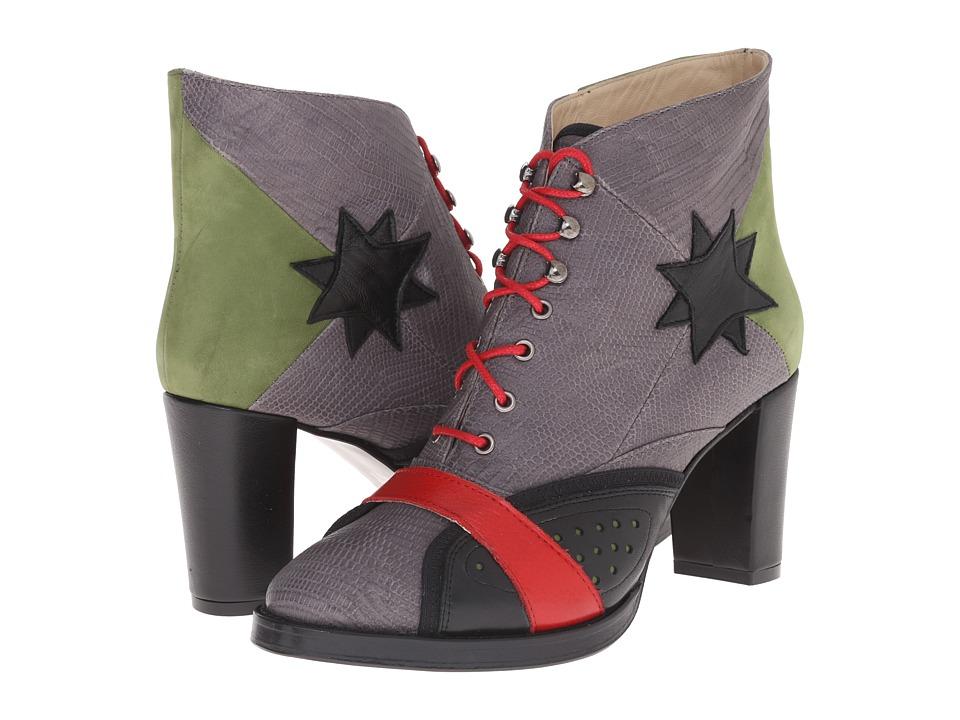 Preen by Thornton Bregazzi - Thurston Ankle Boot (Grey Multi) Women's Boots