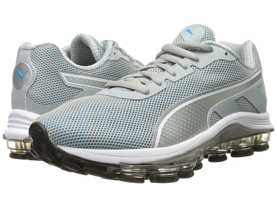 PUMA - Voltage (Quarry/White/Atomic Blue) Men's Running Shoes