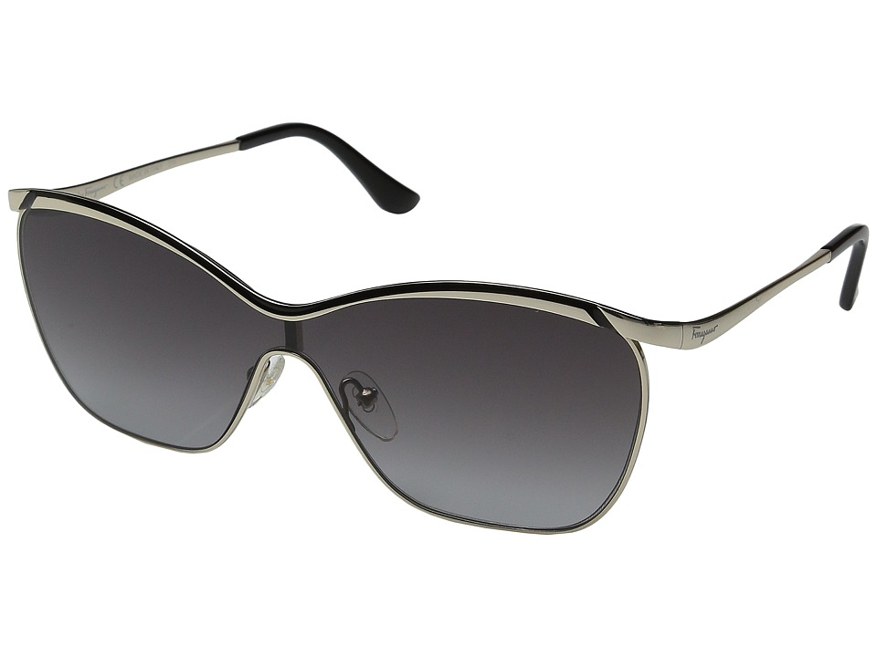 Salvatore Ferragamo - SF148S (Shiny Gold/Black) Fashion Sunglasses