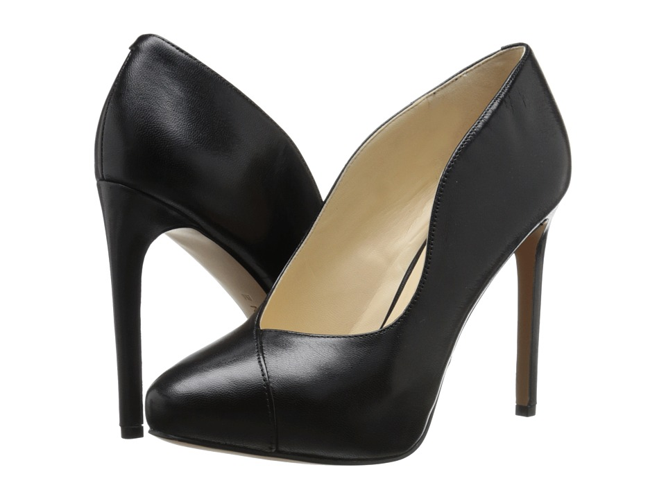 Nine West - Nadya (Black Leather) Women's Shoes