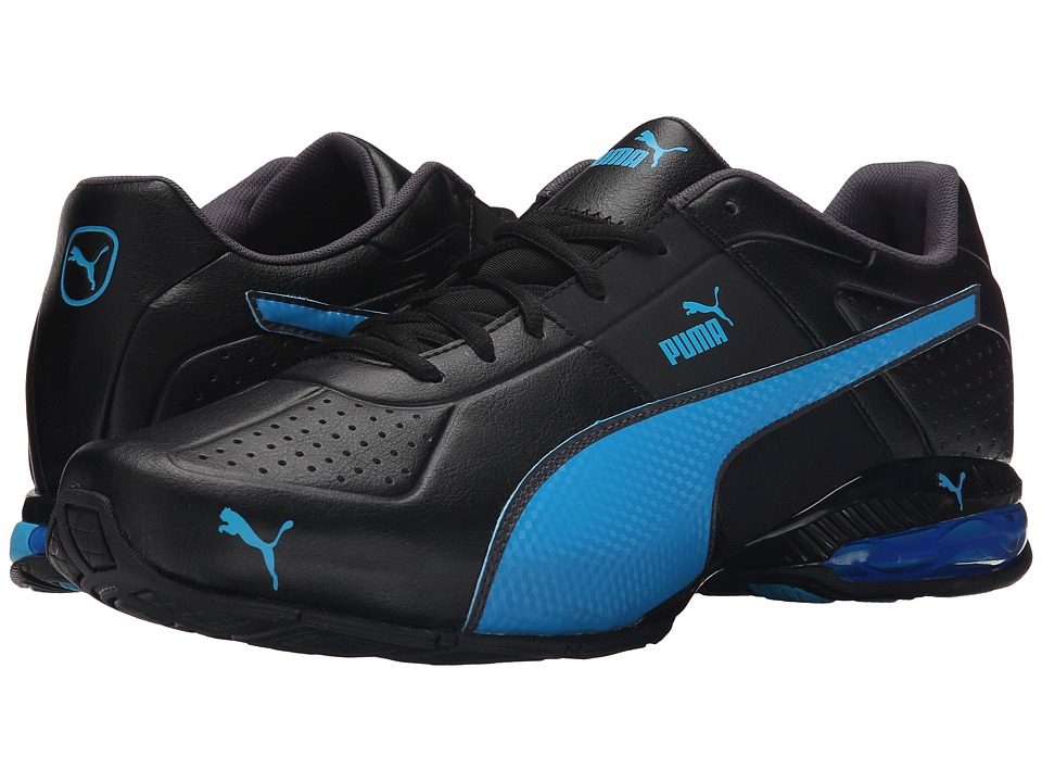 PUMA - Cell Surin 2 (Black/Atomic Blue/Asphalt) Men's Shoes