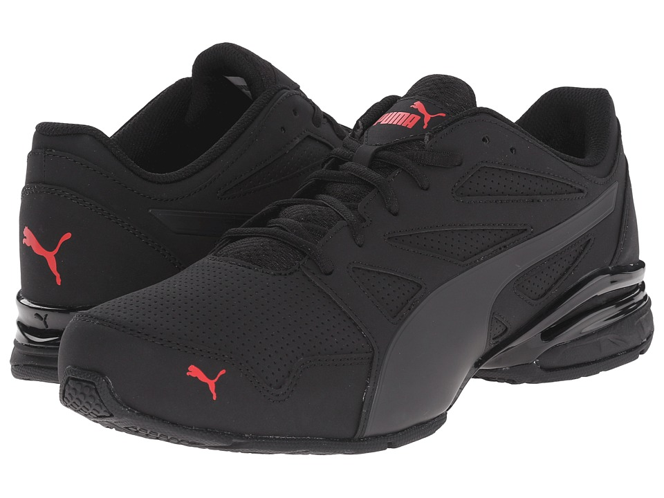 PUMA - Tazon Modern SL (Black/High Risk Red) Men's Shoes