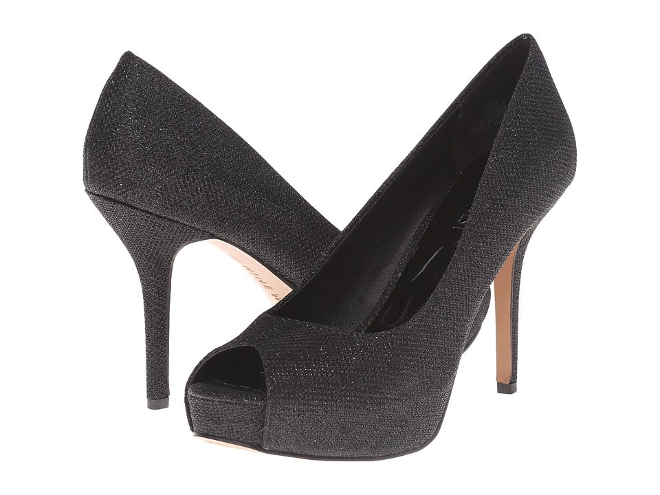 Nine West - Qtpie (Black Fabric) Women's Shoes