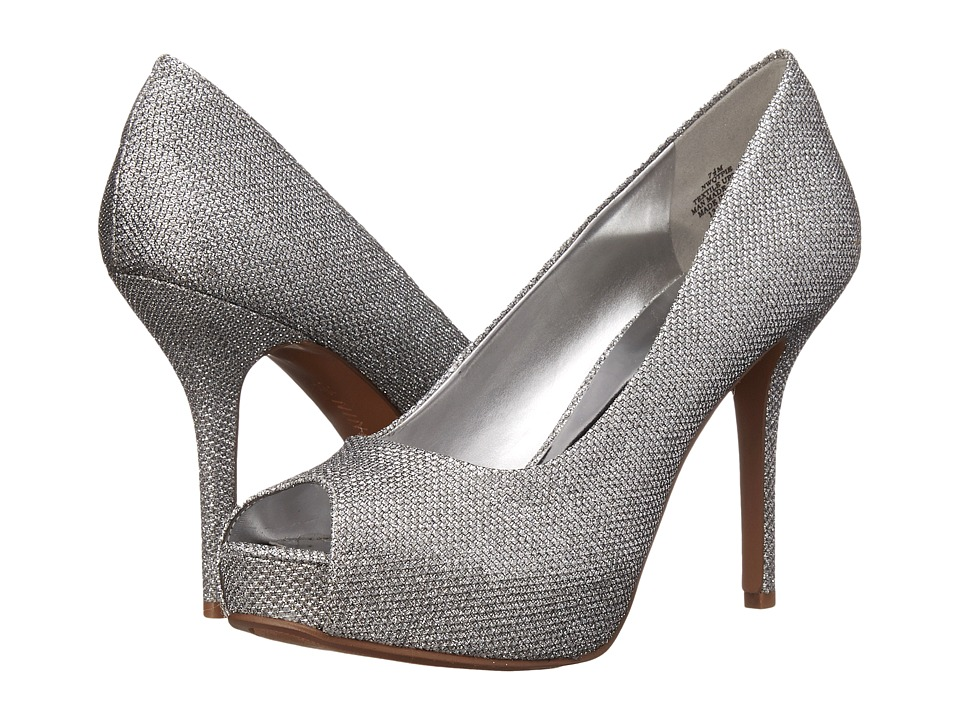 Nine West - Qtpie (Silver Fabric) Women's Shoes